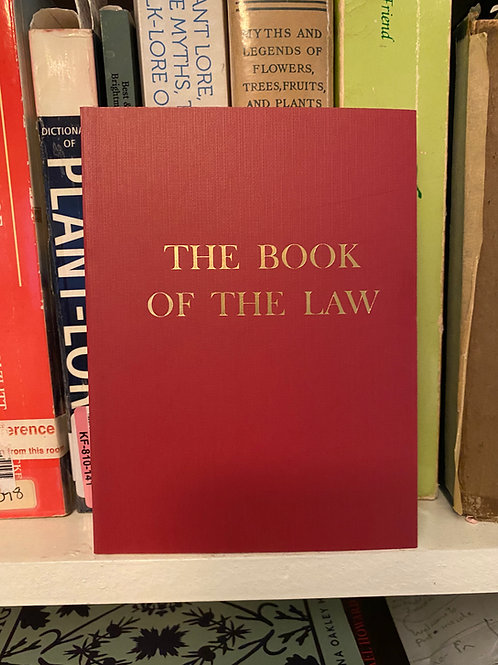 The Book of the Law (PB) - Aleister Crowley