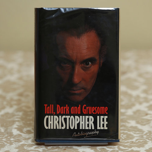 Tall, Dark and Gruesome - Christopher Lee (First ed.)