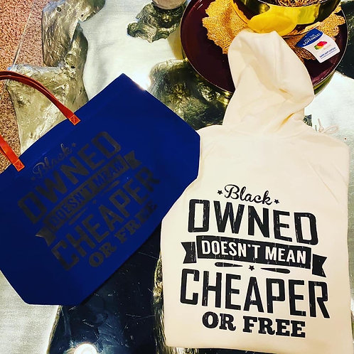 Black Owned Doesn't Mean Cheaper