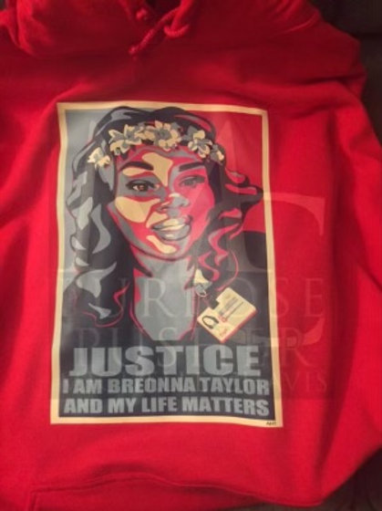 Justice I Am Breonna Hoodie