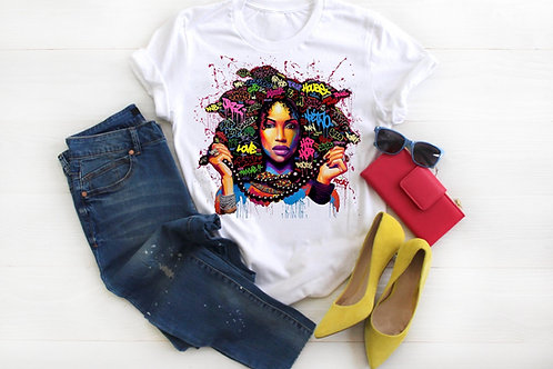 Musik Afro Graffiti Girl