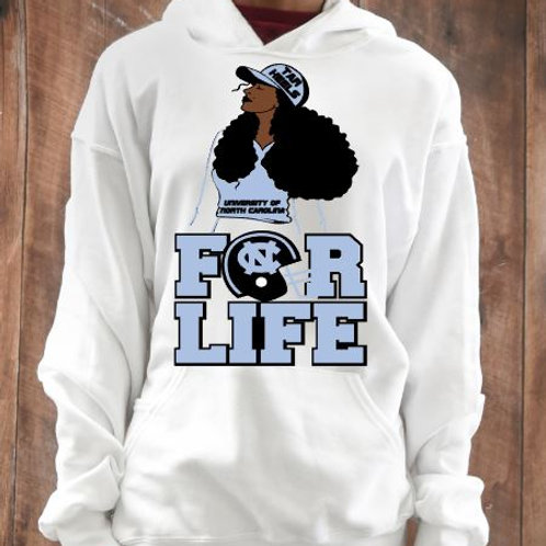 UNC For Life T-Shirt