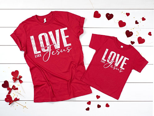 Love Like Jesus Adult and Youth