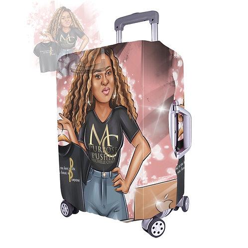 "Custom Large Luggage Cover 26""-28"""
