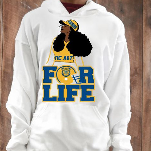 NC A&T For Life T-Shirt