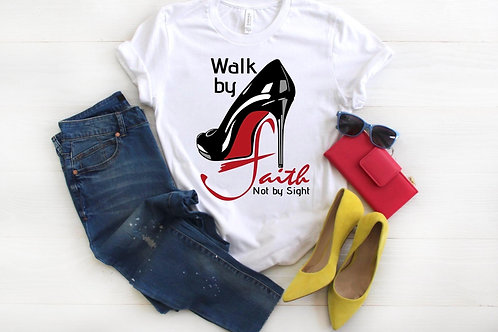 Walk by Faith Red Bottoms