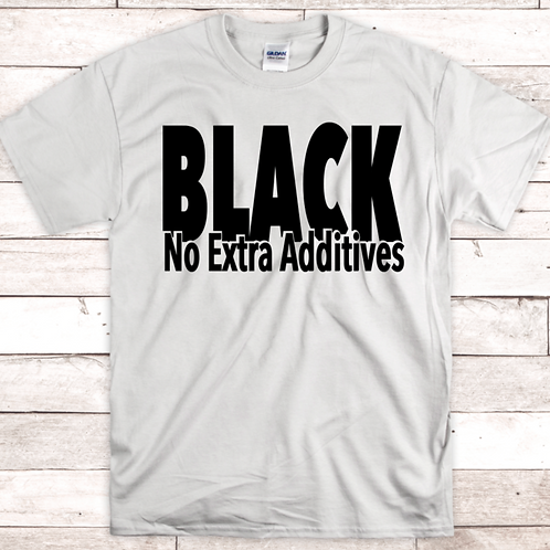 Black No Extra Additives
