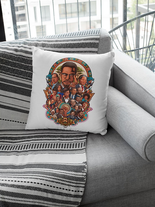 Black History Month Collage Pillow