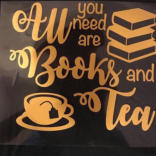 Books and Tea or Coffee