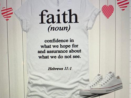 Faith Hebrews 11:1