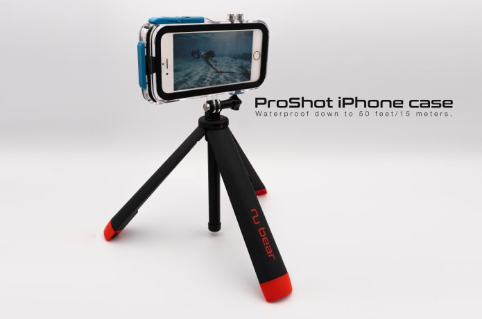 Nu Grip 4 in 1 - The World's First Floating Tripod