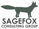 SageFox Square Logo on Transparent Backg