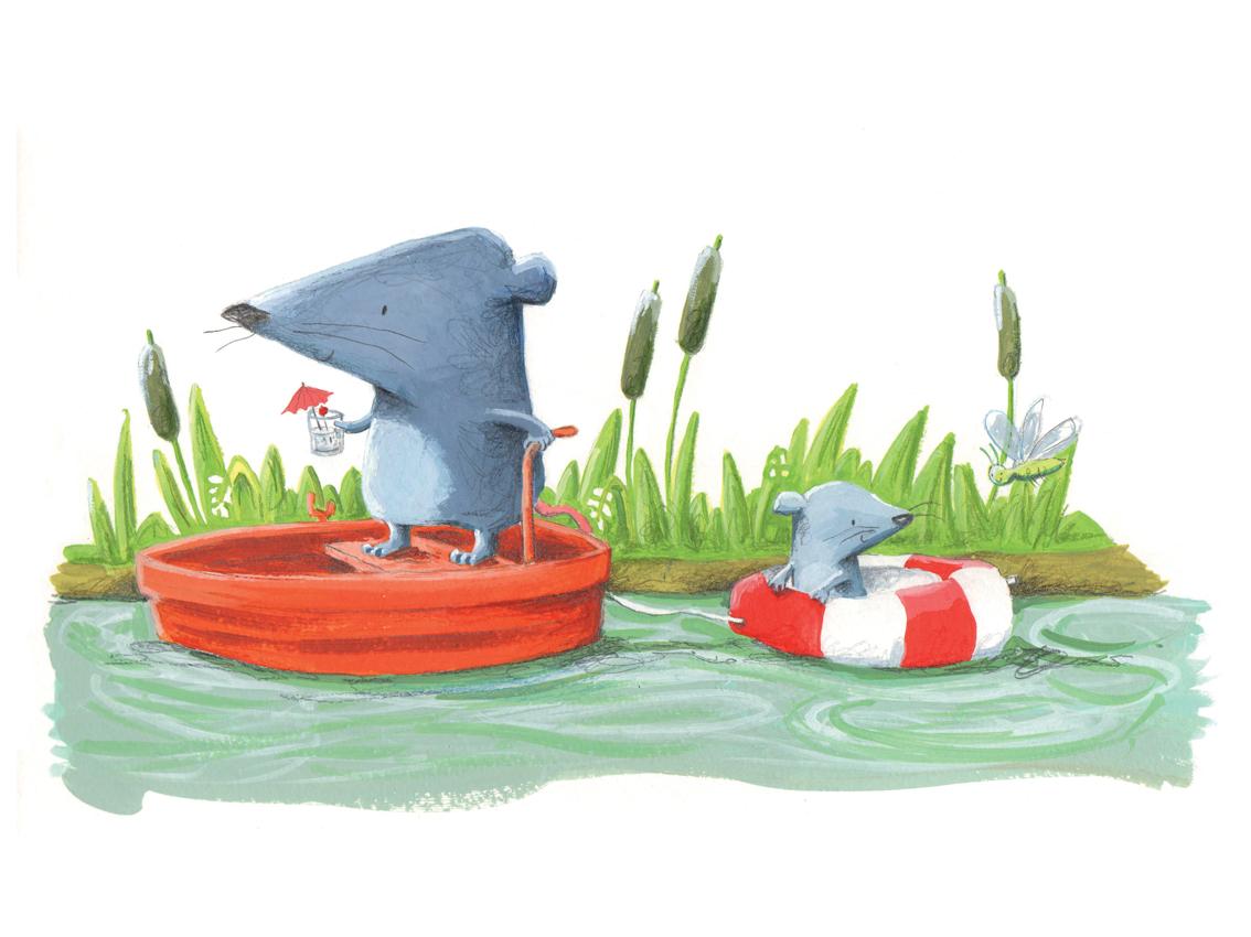 boating rats