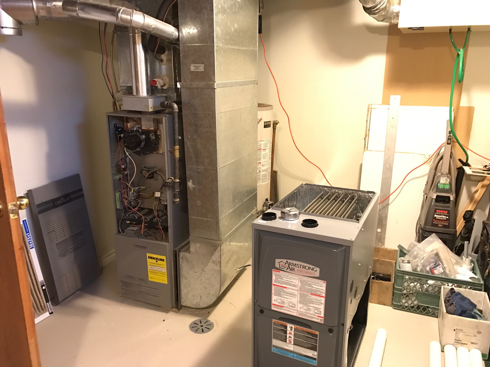 Beausejour Installation of Furnace