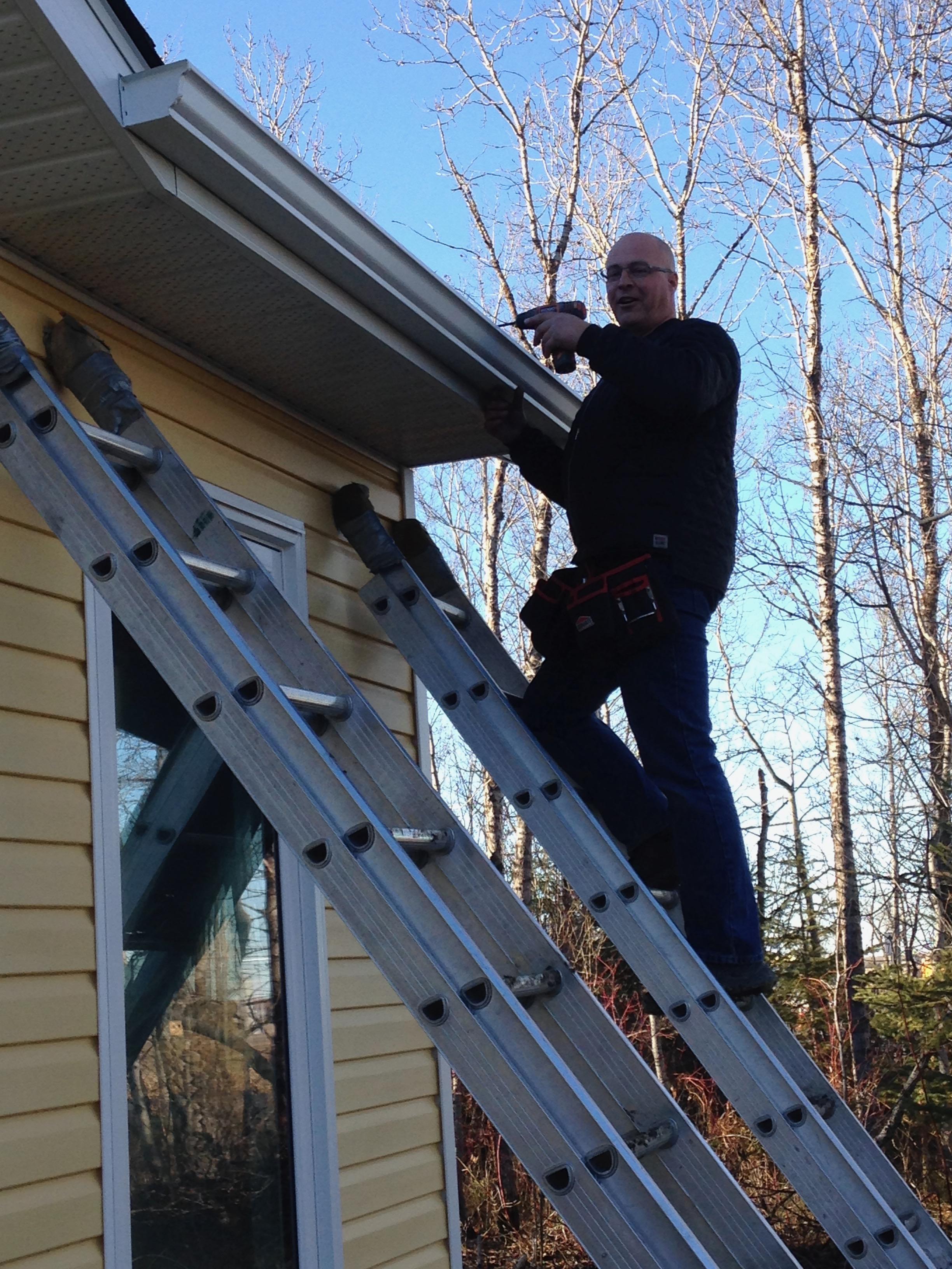 Eavestrough 2 - Dugard Plumbing, Heating & Cooling