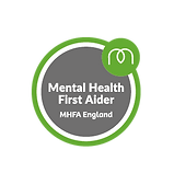 MHFA_Mental Health First Aider Badge Col