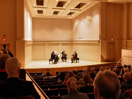 Houston Early Music Presents Axelrod Quartet