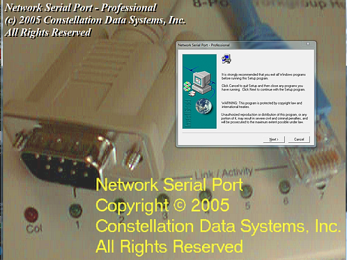 Network Serial Port (v1.09a) for Windows XP (free with coupon)
