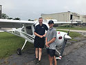 Ray Scholar Brian Ackles First Flight.jp