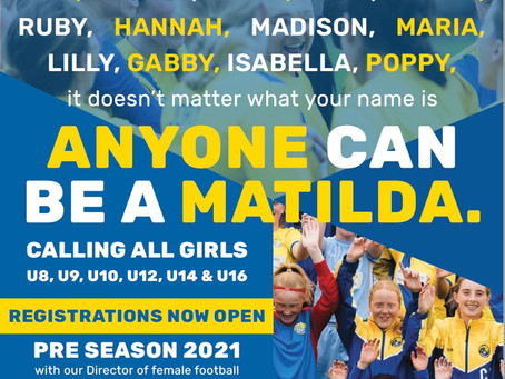 Calling all girls! Anyone can be a Matilda!