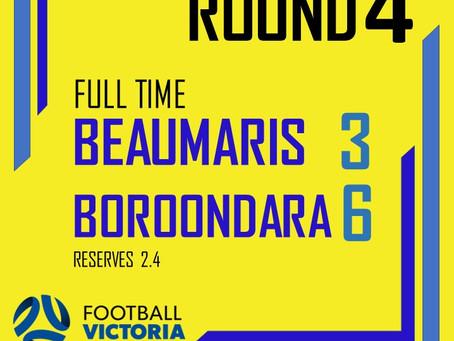 Beaumaris 3 - 6 Boroondara Eagels