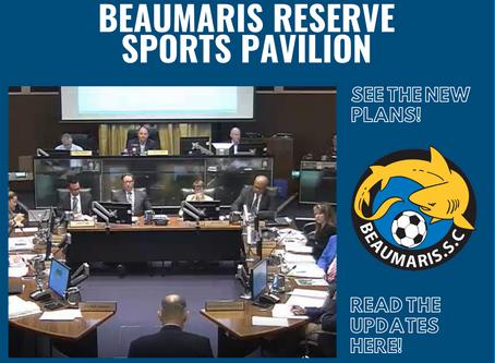 Beaumaris Reserve Sports Pavilion Update! - 20.2.20