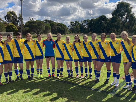 Junior Girls Match Reports Round 2