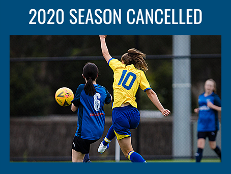 Cancellation of the 2020 Football Season