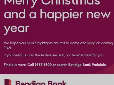 Bendigo Bank Parkdale - Summer Newsletter 2020/21