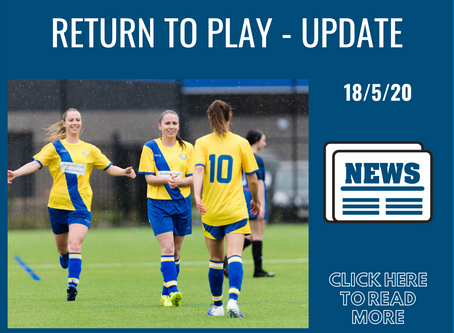 Return To Play - Bayside City Council Update