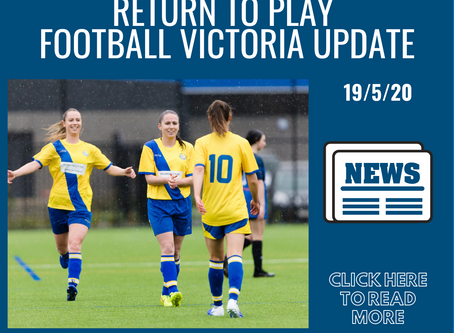 Return To Play - Football Victoria Update