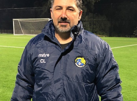New Reserves Coach - Welcome Christian!