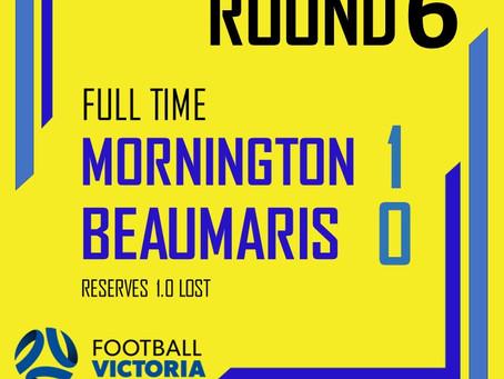 Mornington 1 - 0 Beaumaris