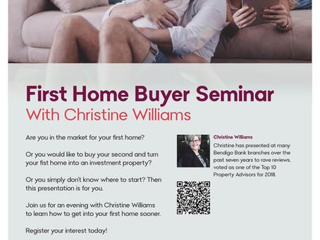 Bendigo Bank Parkdale - First Home Buyer Seminar