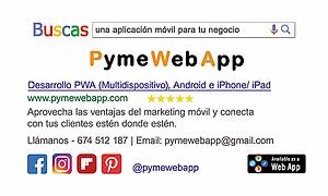 Desarrollo Aplicaciones Móvil. PymeWebApp