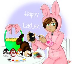 Akiko's Easter