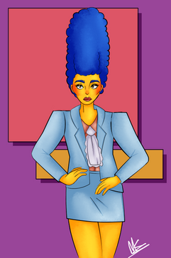Power Suit Marge