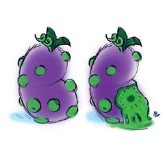 Imaginary Fruit: Slimeapple