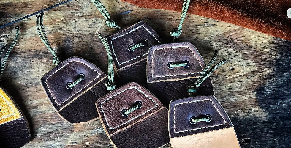 Leather Trad~Bow String Release