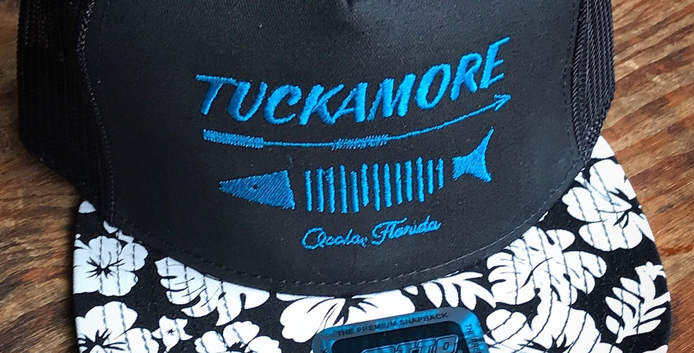 Tuckamore Sushi Fish Hunter Blue Font