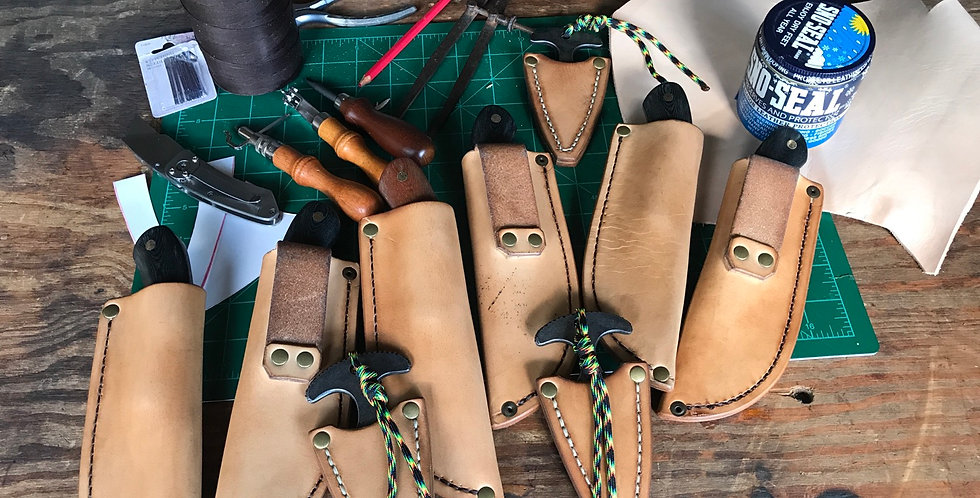 Leather Sheaths ONLY (for Tuckamore Knives)