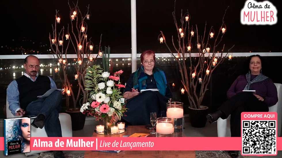 Live de Lançamento Alma de Mulher
