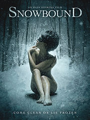 Official movie poster for Olia Oparina's film Snowbound - Written, directed and produced by Olia Oparina