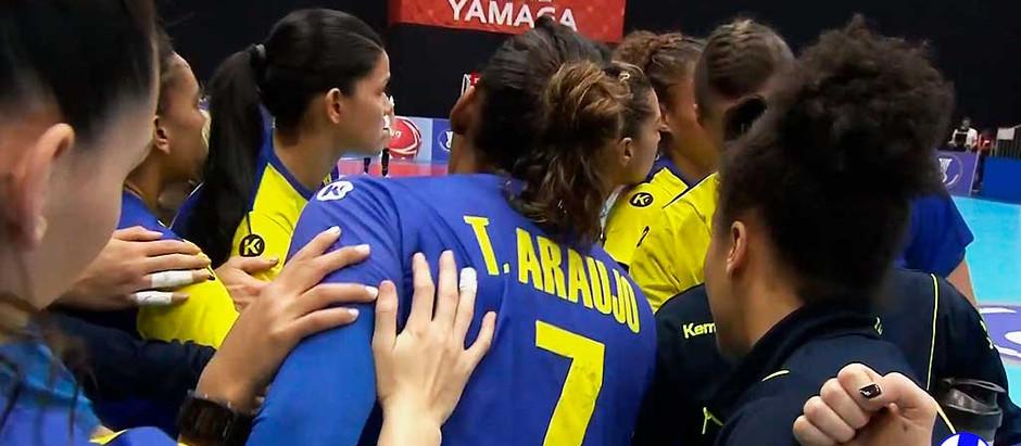 Brasil perde na estreia no Mundial de Handebol Feminino