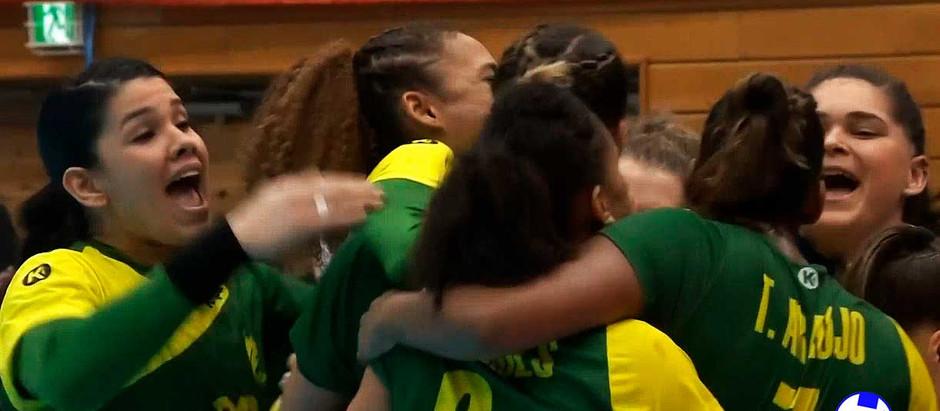 Brasil empata com a França no Mundial de Handebol