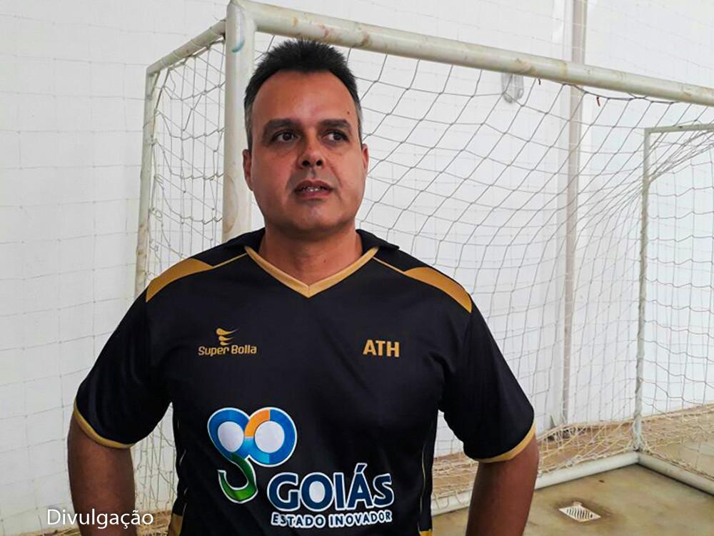 Junio Augusto, presidente da Federação Goiana de Handebol. (foto Divulgação)