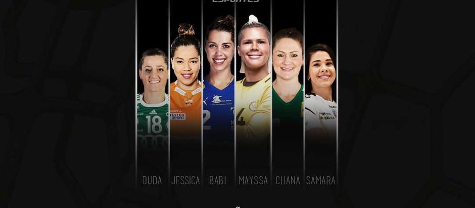 EHF Champions League não tem favoritas, dizem brasileiras na competição