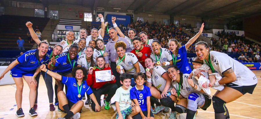 Pinheiros (SP) é bicampeão da Liga Handebol Brasil Feminina