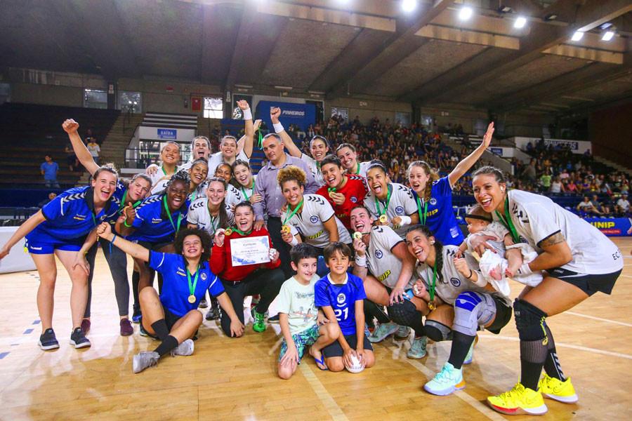 Pinheiros (SP) - Campeão LHB 2019 (foto Atlética UNIP)
