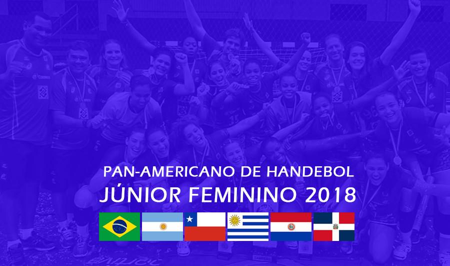 Pan-Americano de Handebol Júnior Feminino. (arte Tchê Esportes)
